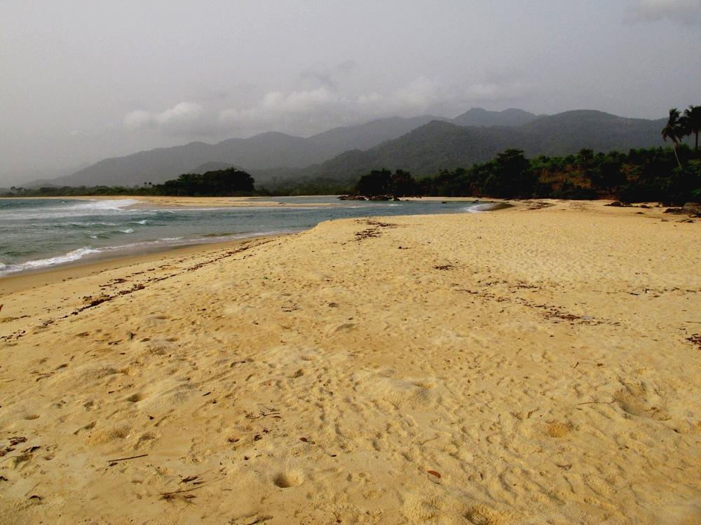 Bureh beach, Sierra Leone